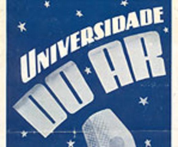 Surge a Nova Universidade do Ar, no Brasil