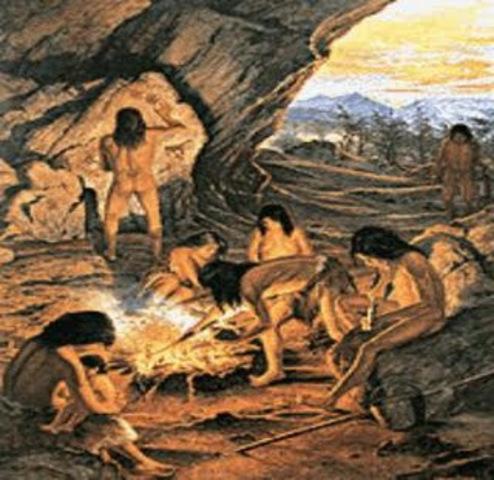 2,500,000 a 4000 a.C. Descubrimiento del Fuego