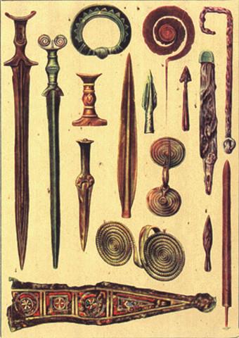 3000 a.C. EDAD DE BRONCE