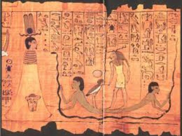 4000 a.C. EGIPTO