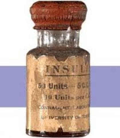 1923 d.C PRODUCCION DE LA INSULINA