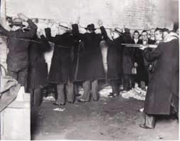1929 matanza en el dia de san valentin