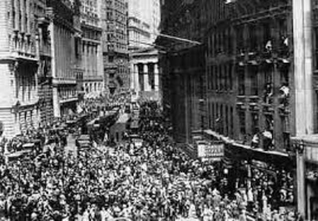 1929 caída de la bolsa de Nueva York
