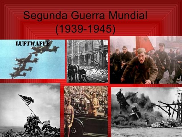 1939 Comienza la Segunda Guerra Mundial.
