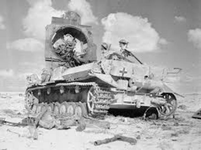 1943 Batalla del Alamein.