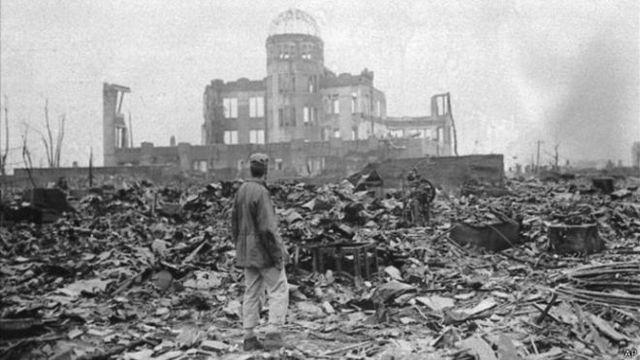 1945 bomba atomica sobre hiroshima