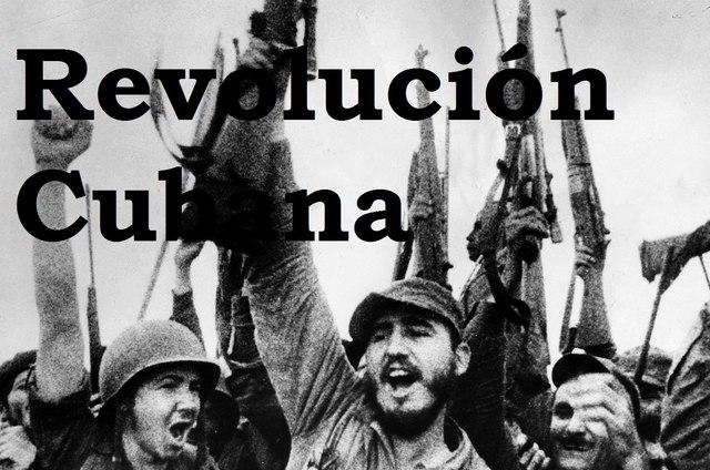 1953-1959 Revolución cubana