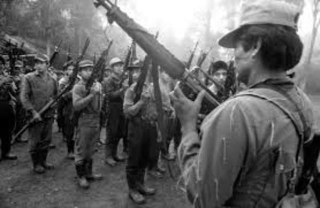1960-1996 Guerra Civil de Guatemala