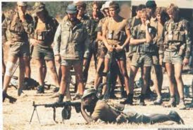 1964-1979 Guerra civil de Rodesia