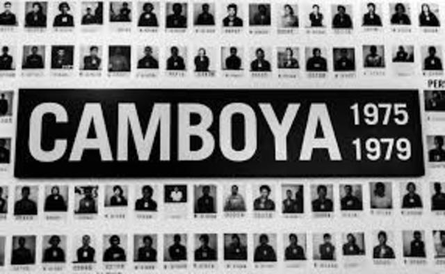 1975-1979 Genocidio camboyano
