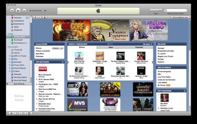 Apple abre ITunes su tienda online multimedia