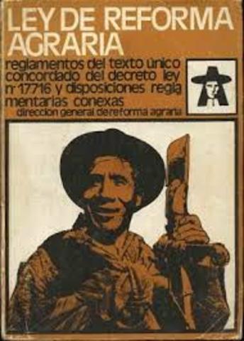 Ley federal de Reforma Agraria