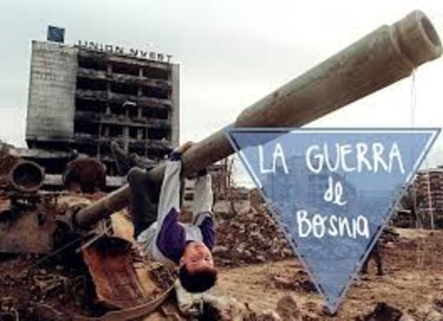 1992-1995  Guerra de Bosnia
