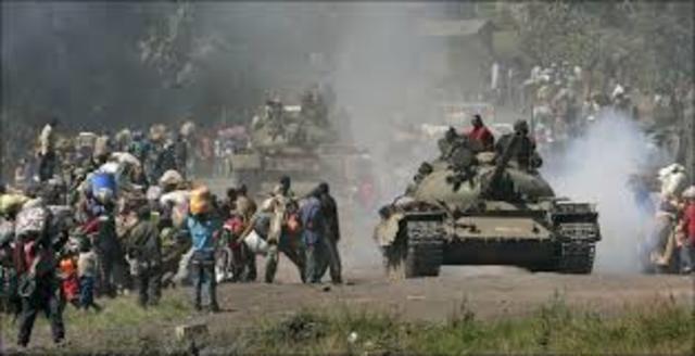 1996-1997 Primera Guerra del Congo