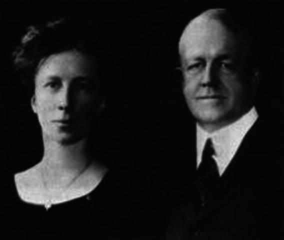 Frank Bunker y Lilian Gilberth
