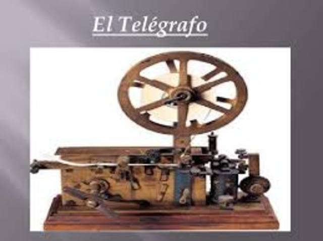 Invención del telegráfo