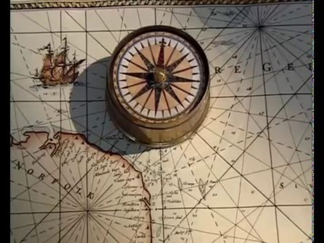 Primera referencia de la brújula magnética en Occidente
