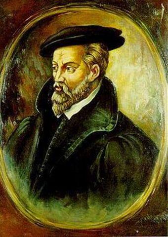 Nacimiento de Georg Bauer