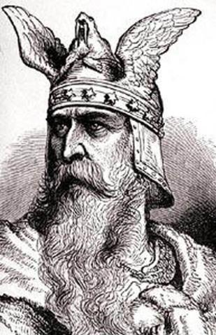 Vikings come to North America