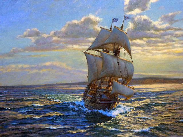 Pilgrims Arrive in America