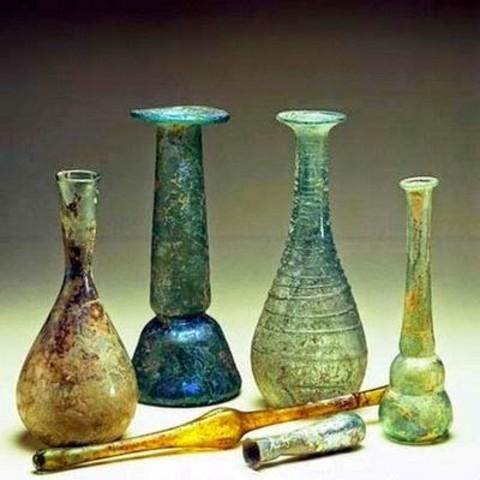4000 a.C. Vidrio