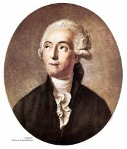 1789 d.C.  Ley de la conservación de la materia