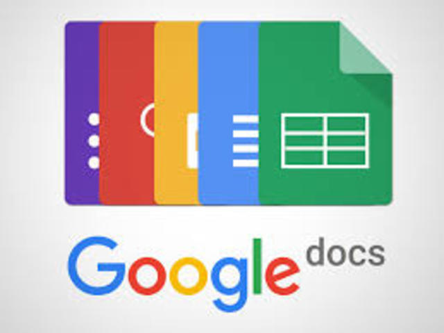 EVOLUCION nube (google docs)