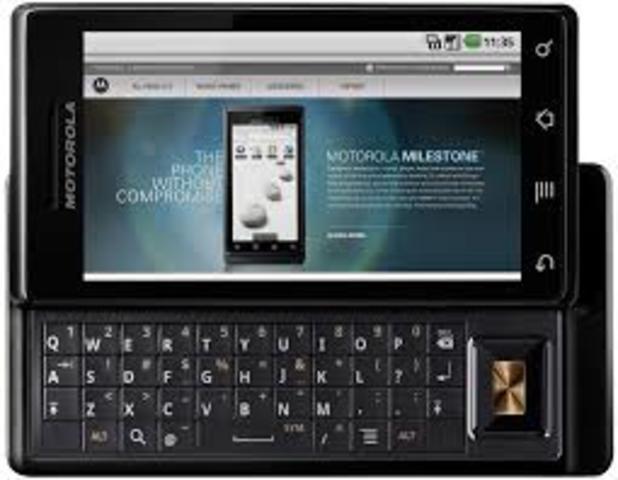 EVOLUCION telefono celular  (motorola milestone)