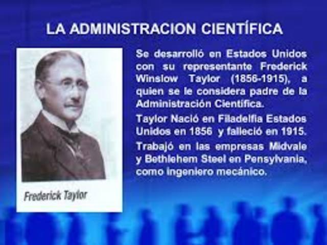Administración Cientifica  1900