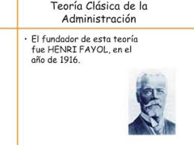 ADMINISTRACIÓN MODERNA  Escuela de Administración 1916