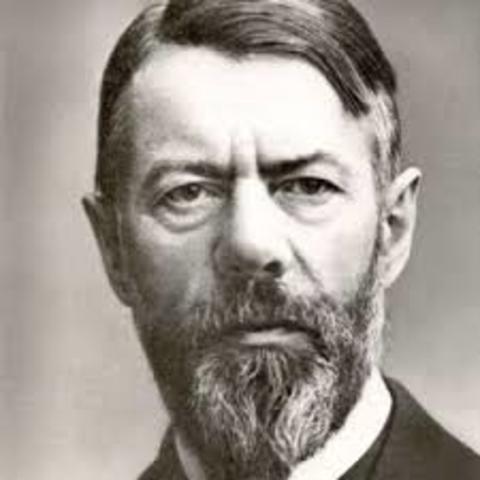 TEORÍA BUROCRATICA Max Weber