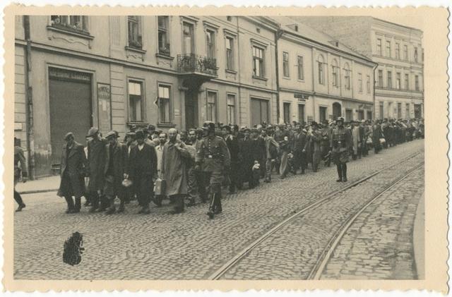 Radom Ghetto first transport to Auschwitz