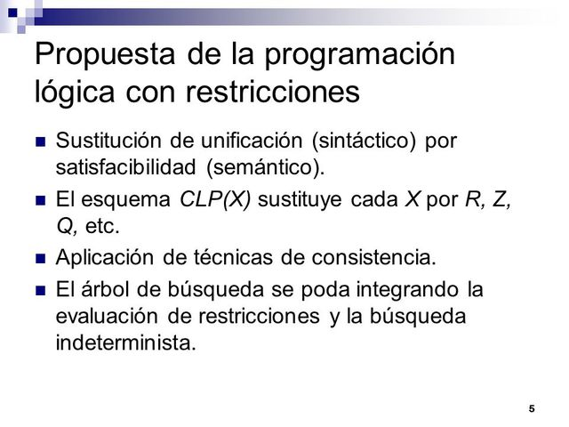 Programación por restricciones