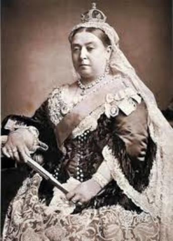 Queen Victoria dies