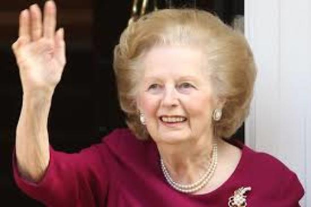 The iron lady resigns