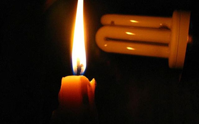 Medio Colombia apagó la luz
