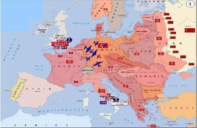 WORLD WAR II IN ENGLAND 1940-1941