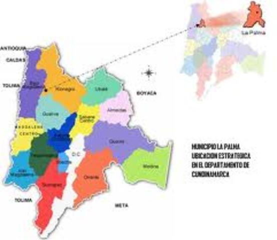 Creacion del estado de Cundinamarca