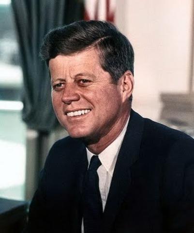 Visita del Presidente J.F Kennedy