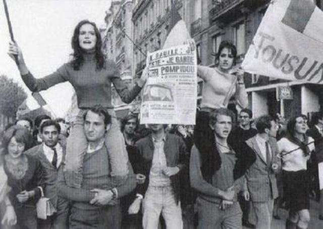 Start of protests in France