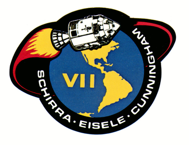Apollo 7 launched
