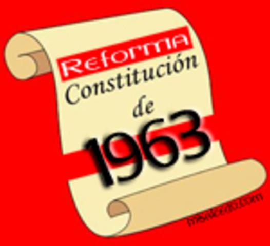 Constitucion de 1963