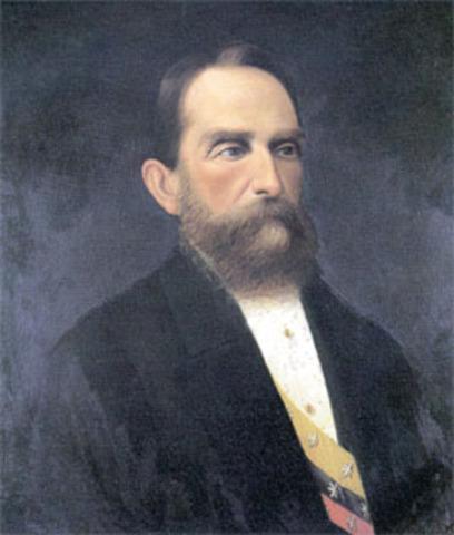 Rafael Nuñez toma la presidencia