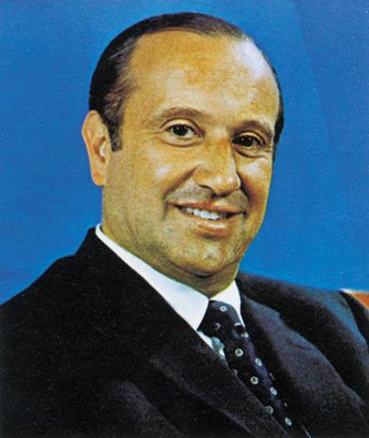 Presidente Misael Pastrana Borrero.