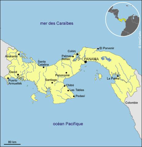 Panama se separa de Colombia