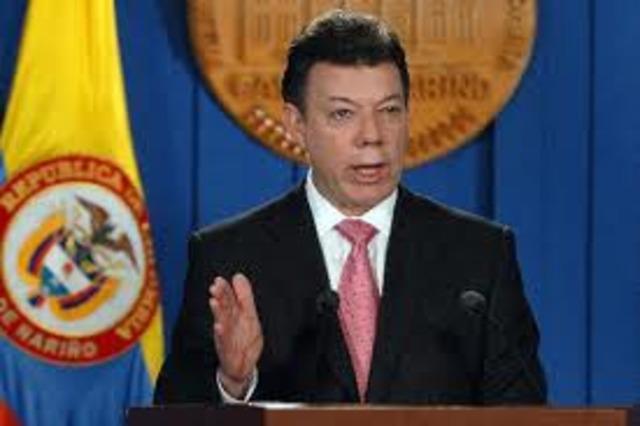 Eleccion de Presidente Santos