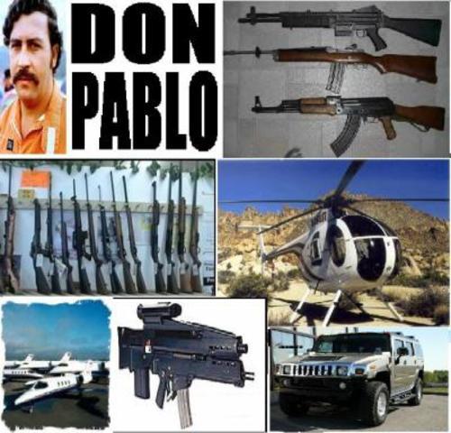 Pablo Escobar es denunciado públicamente.