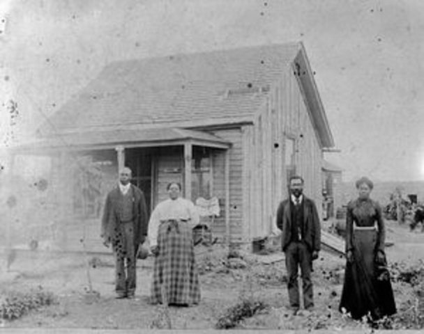 To Kansas- Homestead Act