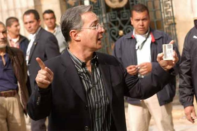 Albaro Uribe Fue Reelegido
