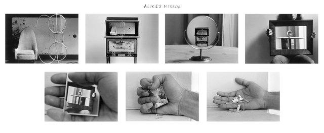 Duane Michals - Le miroir d'Alice
